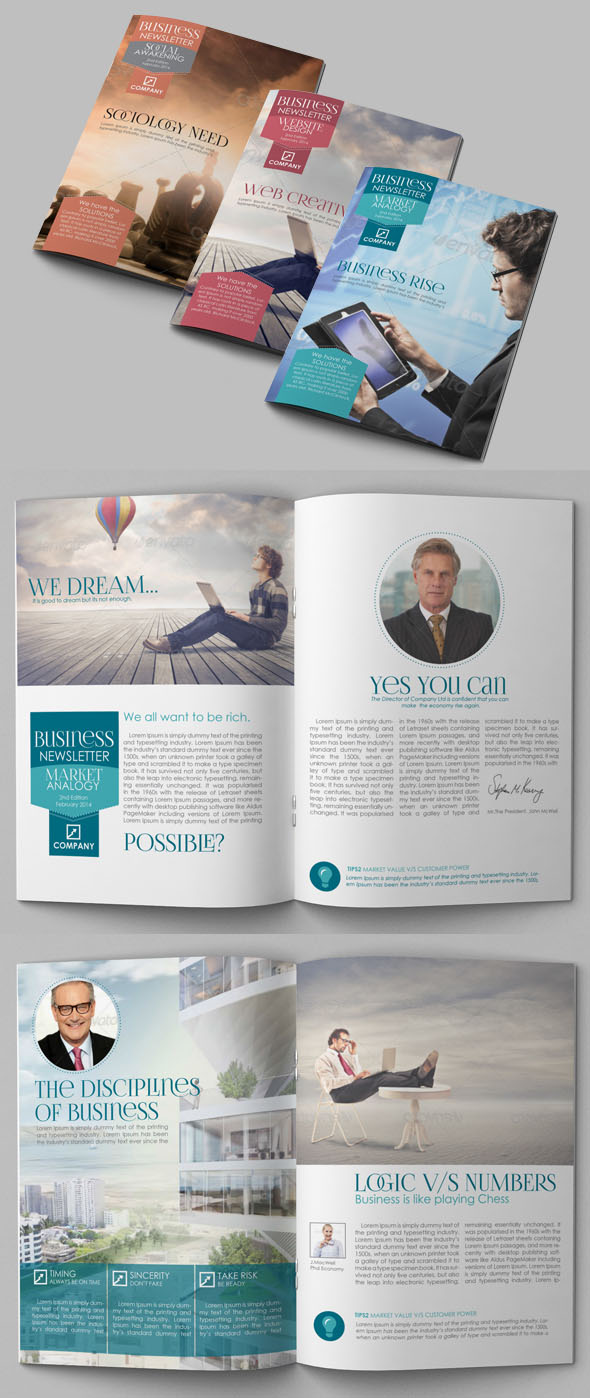26 Best and Creative Brochure Design Ideas for your inspiration by ...